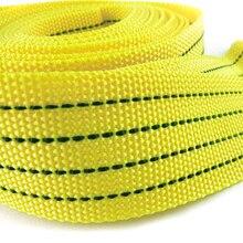 Caliente Vender 3 Toneladas Tow Cable Remolque Correa Cuerda Con Ganchos de Emergencia Heavy Duty