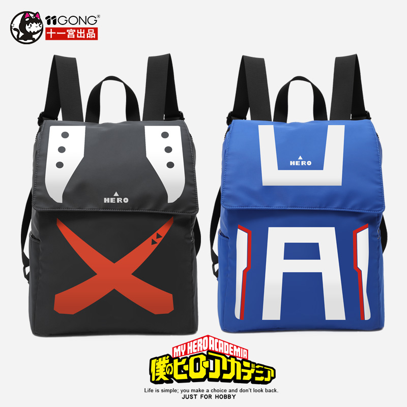 My Hero Academia Boku No Hero Akademia Bakugou Katsuki Backpack Cosplay Shoulders Bag For Traveler Student 39*15*30CM