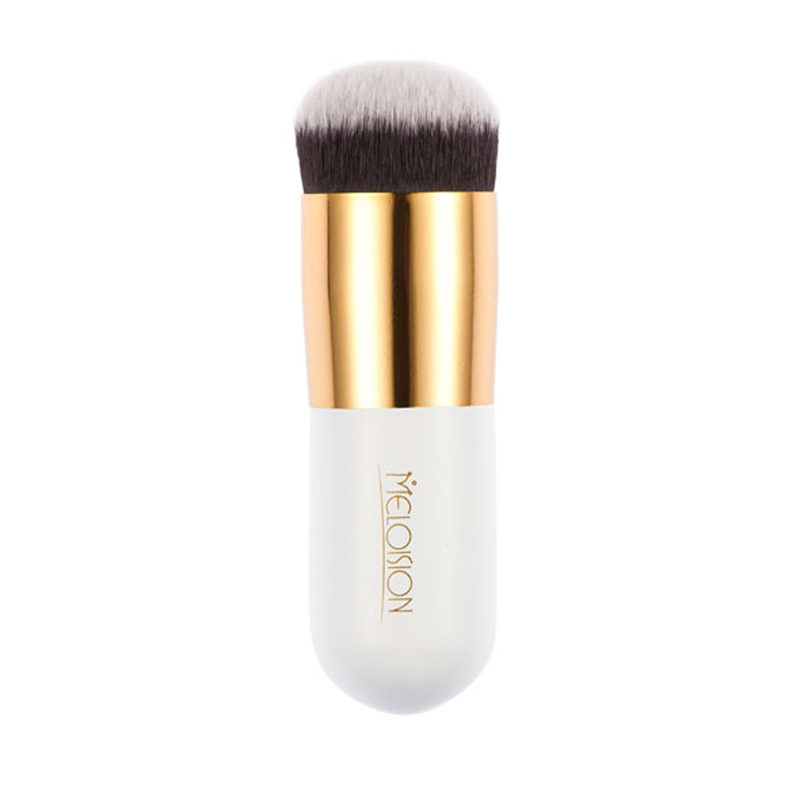 Professional Round Flat Fead Makeup Brush for Liquid Foundation LV2 nyx professional makeup матирующая тональная основа stay matte not flat liquid foundation deep rich 187