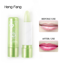 High Quality Lips Balm Cosmetics Sexy Long Lasting Lip Gloss Tattoo Temperature Change Color Matte Jelly Lipstick Lip Baton