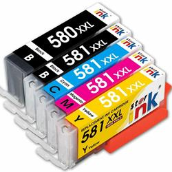 Nowy kompatybilny PGI-580XL CLI-581XL atrament kartridż do canona Pixma TR7550 TR8550