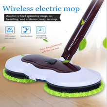 Electric Wet and Dry Type Mopping Waxing Machine Rechargeable Floor Mops