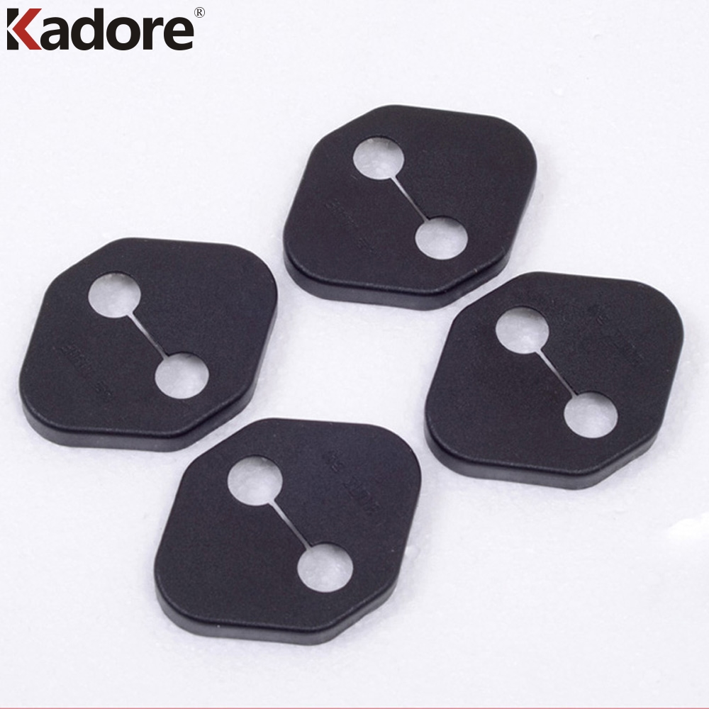 For Toyota Camry 2012 2013 2014  Door Lock Protection Buckle Cover Trim Door Locks Covers 4pcs Car Sticker