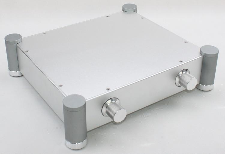 WF1170 boîtier en aluminium complet/boîtier de préampli/amolificateur de puissance châssis bricolage amplificateur de Tube boîte 280*320*70mm