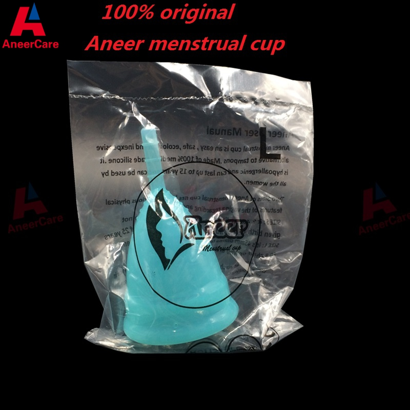 50Pc lot Retail Menstrual Cup For Women Feminine Hygiene Product Medical Grade Silicone Vagina Use S