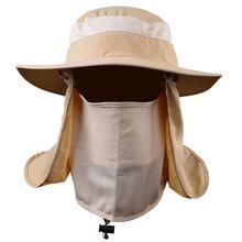 ropa de pesca sunscreen fishing suns anti uv daiva Protection Face Neck Flap Sun CapHeadband  Sun Rain Hat Cap Fishing Hiking