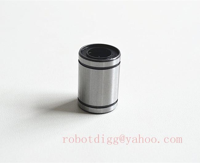 ٩(^‿^)۶Envío libre 5 unids calidad LM12UU 12mm rodamiento lineal CNC ...
