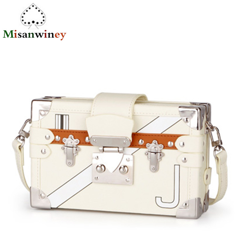 Vintage Handbags Clutch Retro Women Messenger Bags Panelled Box Bag Rivet Crossbody Shoulder Bags Small Handbag Purse Sac A Main vintage handbags clutch retro women messenger bags panelled box bag rivet crossbody shoulder bags small handbag purse sac a main