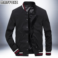 Men Jacket Baseball Autumn New 2018 Stand Collar Fashion Men's Jackets and Coats Casual Male Hoodies