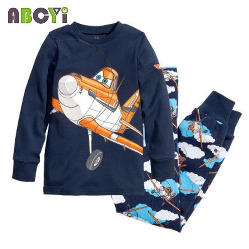 children's pajamas Long Sleeve Clothes Kids Pajamas Baby Clothing Sets for Boys pijama Girls pyjamas Cartoon Sleepwear 1