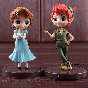 Image 5 - QPosket Q Posket Petit Characters Fantastic Time Aladdin Wendy Peter Pan Toy Figures PVC Action Figure Kids Toys Dolls 3pcs/set