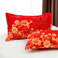 2 pcs stripe Sanding pillowcases Bedroom pillow cover 20 color 75 CM*50 CM Ventilation Washable