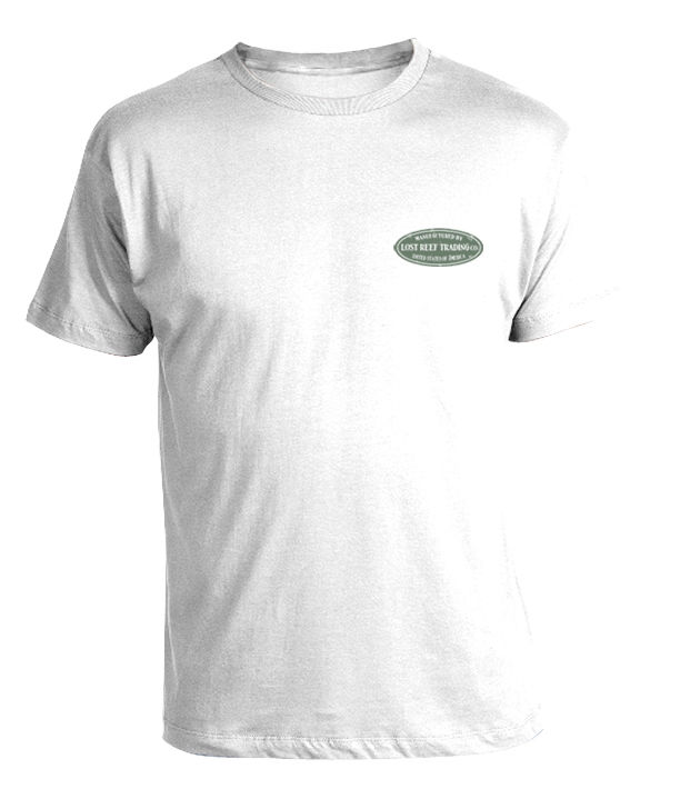 Tommy bahama style mermaid men 39 s white t shirt new s m l for Best quality mens white t shirts