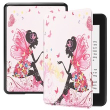 Universal Tablet PU Leather cover tablet case For New Amazon Kindle Paperwhite 10th Gen 2018 Folio Case Cover Auto Sleep Wake z6