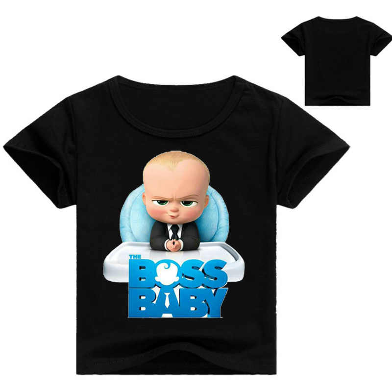 4bbc02b1ed00 ... Z Y 2-16Years Bobo-choses-2018 The Boss Baby T Shirts for Teenagers ...