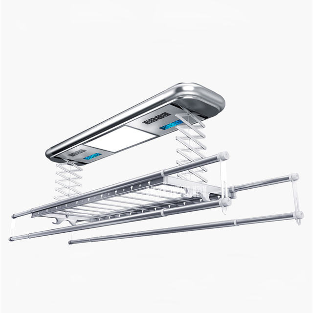 TK-9002 Intelligent Electric Drying Rack Balcony Automatic Remote Control Lifting Telescopic Clothes Drying Machine 220V 121W