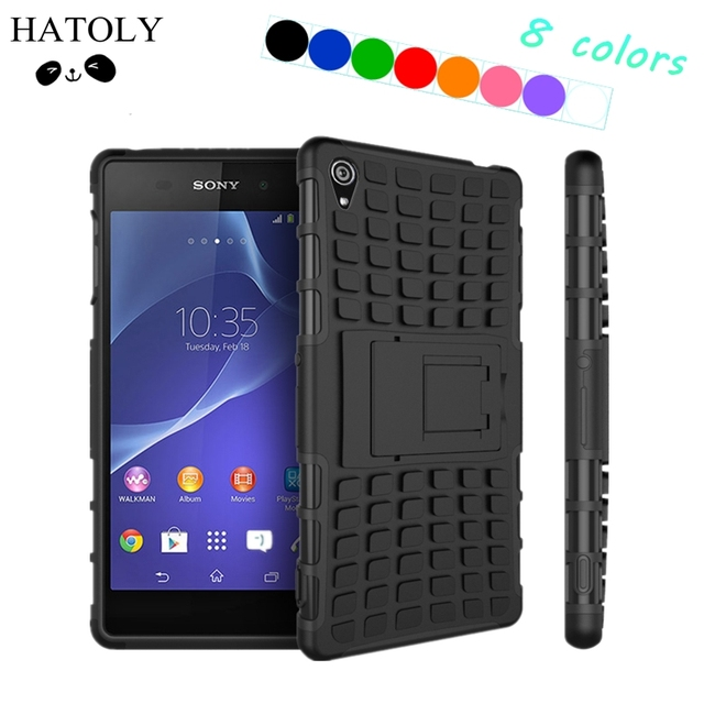 check out 7c6cb 1c32c US $3.1 26% OFF|sFor Case Sony Xperia Z3 Cover Heavy Duty Silicone Phone  Case For Sony Xperia Z3 Case For Sony Z3 D6603 D6643 D6653 HATOLY <-in  Fitted ...