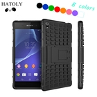 sFor Case Sony Xperia Z3 Cover Heavy Duty Silicone Phone Case For Sony Xperia Z3 Case For Sony Z3 D6603 D6643 D6653 HATOLY