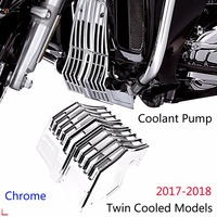 Lower Coolant Pump Accent Cover For Harley Touring 17 18 Twin Cooled Road Glide Ultra Tri