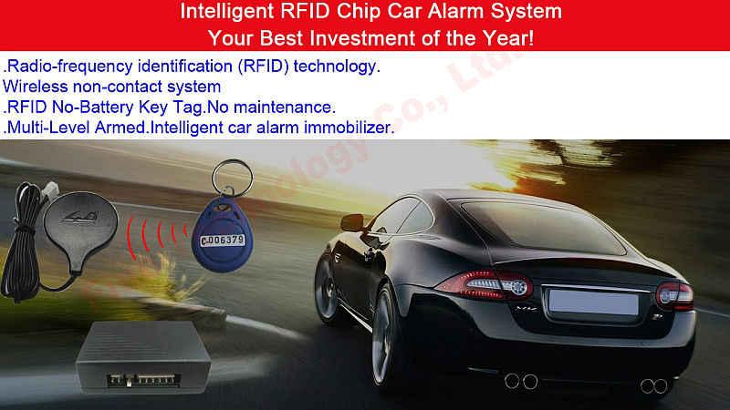 engine immobilizer system theft prevention RFID chip