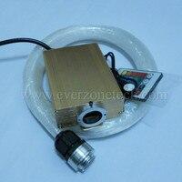 FY-1-002 200 adet 0.75mm * 2 M Moda Kristaller LED Dekorasyon DIY Fiber Optik Yıldız Tavan Kiti