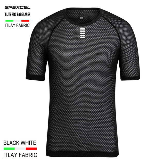 SPEXCEL Italy MITI Fabric Elite Pro Team Base Layer Short Sleeve cycling T shirt men women Mesh Breathable Sport underwear sport elite se 2450
