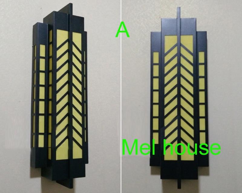 Porta d ingresso lampada da parete impermeabile applique da parete