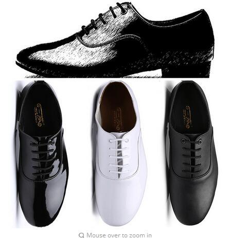 2017 Adult Dance Shoes Man Latin Tango Dance Shoes Man Hot Sale Brand Boys Dancing Ballroom Rumba Samba Bull Low Heel Hight 25mm