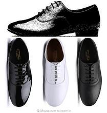 цены на 2017 Adult Dance Shoes Man Latin Tango Dance Shoes Man Hot Sale Brand Boys Dancing Ballroom Rumba Samba Bull Low Heel Hight 25mm  в интернет-магазинах