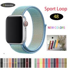 Nylon strap for Apple watch band 4 44mm 40mm iWatch band 42mm 38mm Women strap belt bracelet watchband 3 2 1 Accessories(China)
