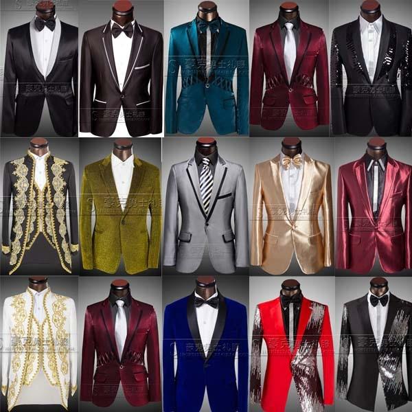 2015 sequined tuxedo suits groom suit mens suits wedding groom ...