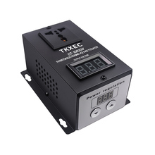 منظم جهد إلكتروني SCR بتيار متردد 220 فولت 10000 وات منظم سرعة ضبط درجة الحرارة منظم تعتيم باهتة للحرارة