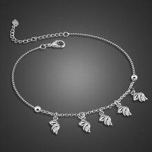 Мода 925 серебряные цепочки, Женщин серебряные цепочки прекрасный рыба, Твердые серебряные украшения, Бесплатная доставка