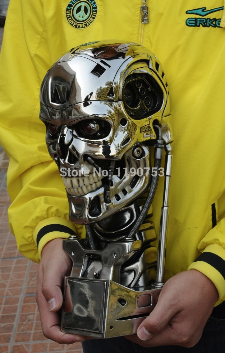 Resin for arts and crafts - Aliexpress Com Buy Terminator T800 Standard Edition 1 1 Skull Cool Resin Arts And Crafts From Reliable Skull Anatomy Suppliers On Mamy And Poko