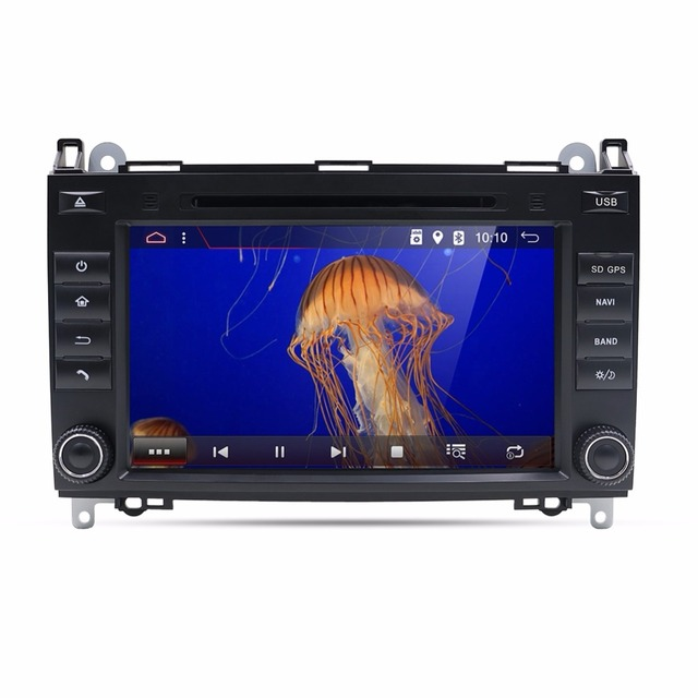 Bosion Android 7.1,8 inch Double Din Car DVD Player for Mercedes Benz Viano,2004-2012,with GPS Navigation