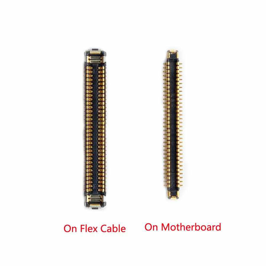 2 unids/lote pantalla LCD conector FPC en placa base Cable flexible para Samsung Galaxy S8 G950 S8 + Plus g955