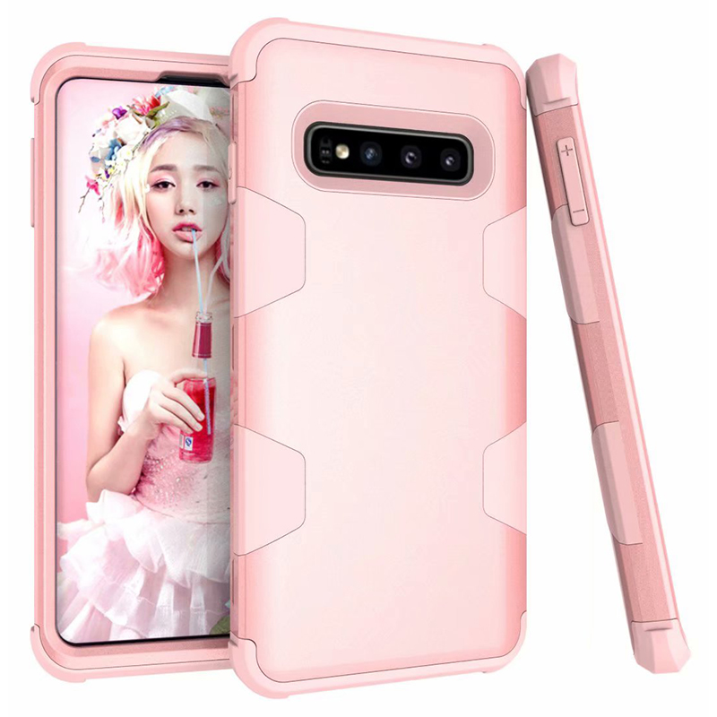 360 Full Armor Phone Case For Samsung Galaxy S10 S10 Plus Note 9 S9 PC Silicone TPU Anti-Knock Cover Note 8 S8 Shockproof Case