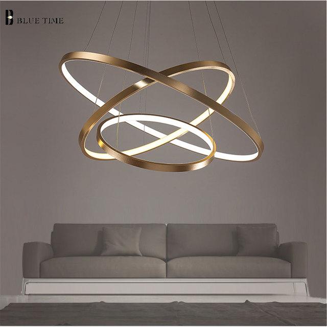 Nero Bianco Glod finito LED Apparecchi di Illuminazione Lampadario ...