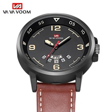 2019 Top Luxury Brand Men Military Sports Watches Men's Quartz Date Week Clock Man Casual Leather Wrist Watch Relogio Masculino 2016 top brand luxury analog men military sports watches mens quartz leather date clock man casual wrist watch relogio masculino