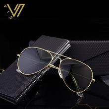 Designer Mirror Sunglasses Pilot Sun Glasses Vintage Goggles Mirrored Men Women Lentes Oculos De Sol Piloto Lunette De Soleil