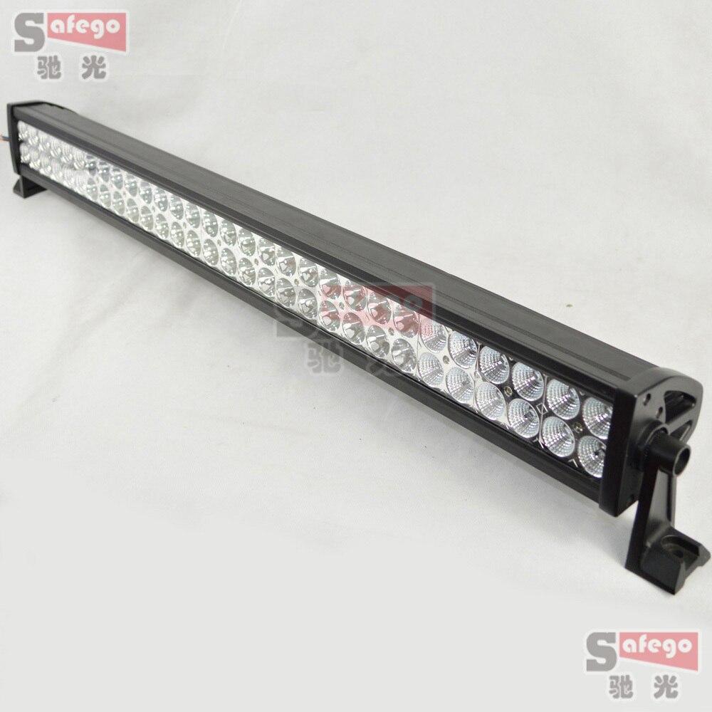1 pcs 180w offroad led font b light b font bar 32inch waterproof 12v 24v combo