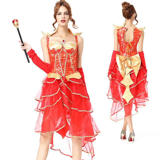 Adult Halloween Couples Bride V&ire Costume Ladies Fancy High Low Layered Dress Deluxe Festival Red Cosplay  sc 1 st  AliExpress.com & Adult Halloween Couples Bride Vampire Costume Ladies Fancy High Low ...