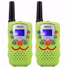 цена на RETEVIS 2 pcs Children Walkie Talkie Kids Radio RT32 0.5W 8/22CH Portable Wireless Radio Gift Two Way Radio Communicator A9113