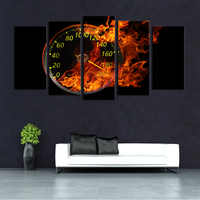 Motorcycle FIRE speed HD Canvas painting on the wall Print and Painting poster cuadros decoracion Wall art picture crafts YY248