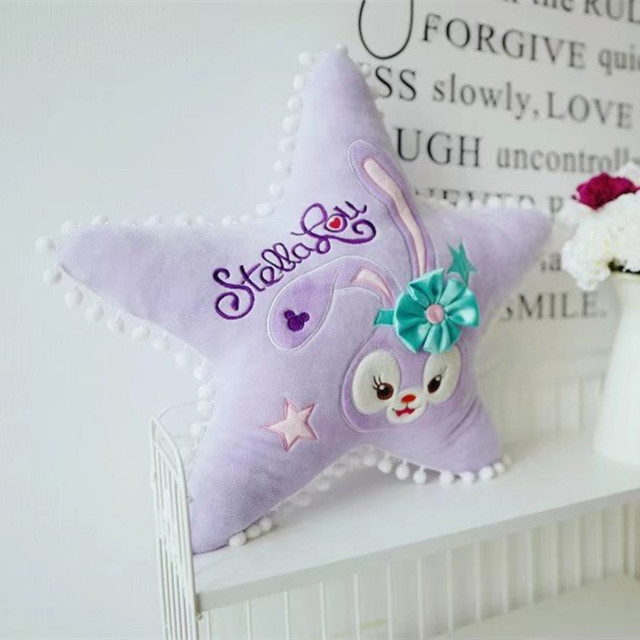 50cm Cute Plush Doll Lace Rabbit Pentagram Pillow Toy Office Sofa Cushions  Gift  for Girlfriend