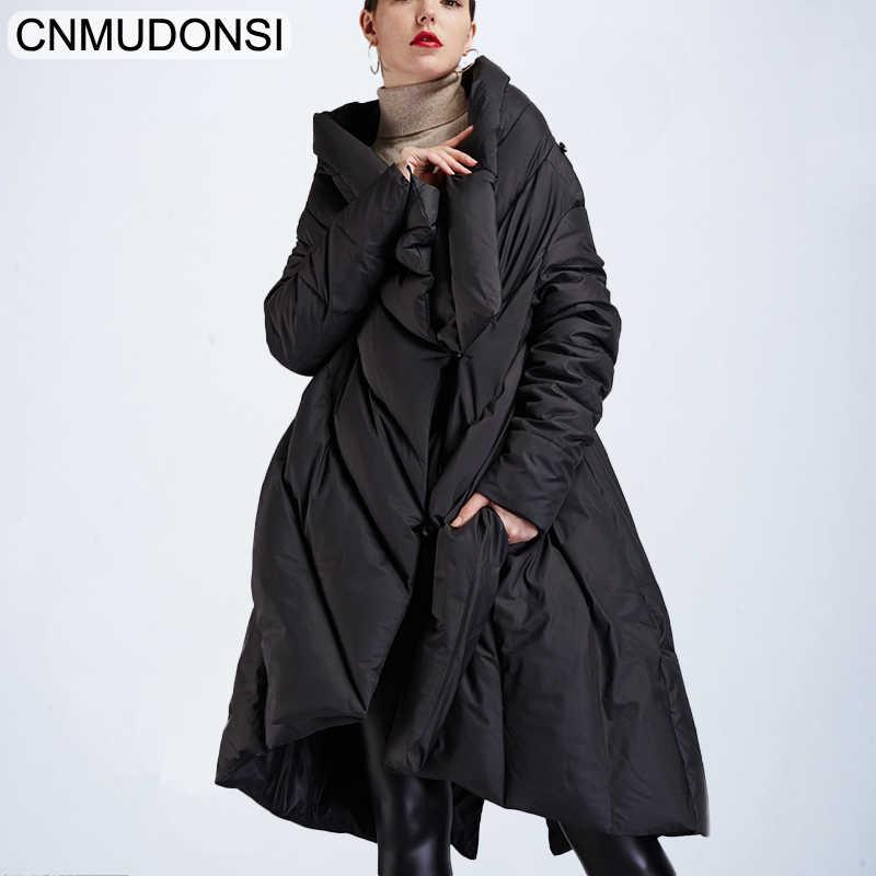 Fashion Women Jacket Winter Coat Down Cloak Designers Big Ladies Puffer Cape Ladies Long White Duck Woman Black Oversized Luxury Aliexpress
