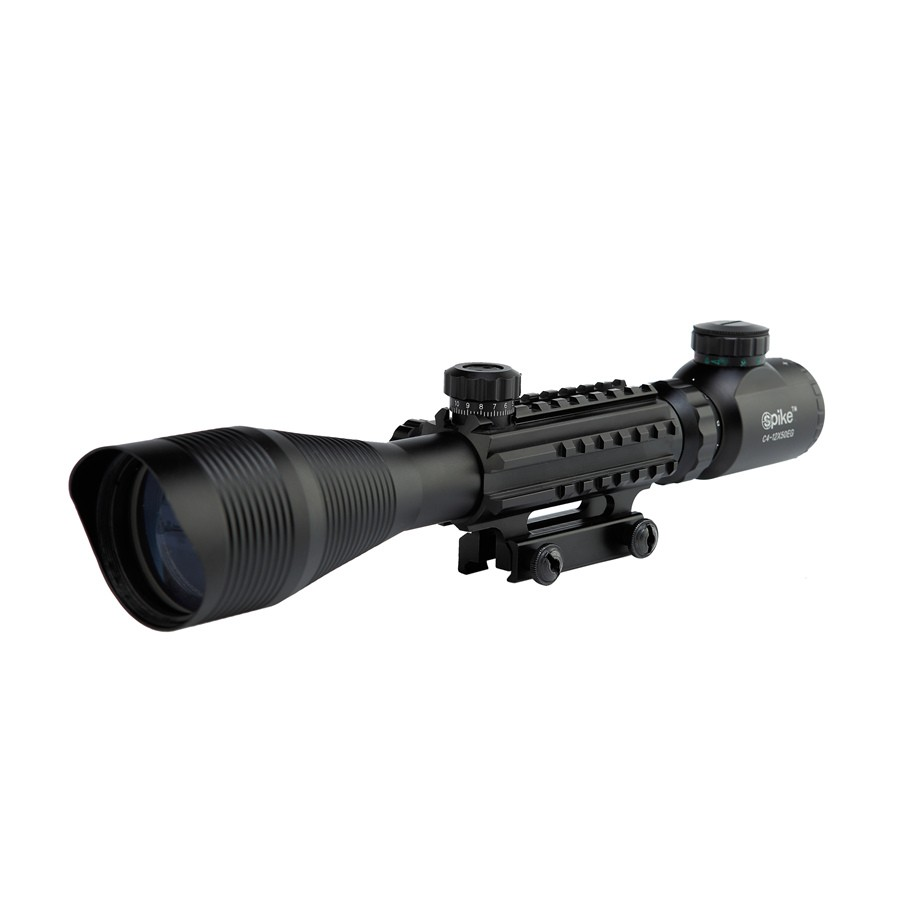 Hot Sale C 4-12X50 EG Air Riflescope Optics Tactical Hunting Rifle Scope With Rail Mount For Outdoor Shooting Weapons and Guns hot sale 2 5 10x40 riflescope illuminated tactical riflescope with red laser scope hunting scope