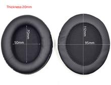 112x95 mét hình bầu dục thay thế cushion ear pad miếng đệm tai nghe earmuff cup bìa đối với tai nghe