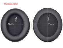 112x95mm oval replacement cushion ear pad earpads earmuff cup cover for headphones