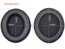 Almohadillas ovaladas de repuesto de 112x95mm, almohadillas para los oídos, funda para taza orejera para auriculares